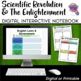 Scientific Revolution & the Enlightenment DIGITAL Interactive Notebook