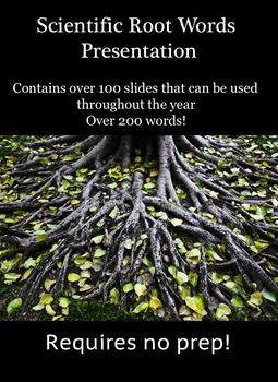 Scientific Root Words
