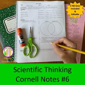Scientific Thinking Cornell Notes #6