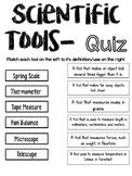 Scientific Tools Quiz
