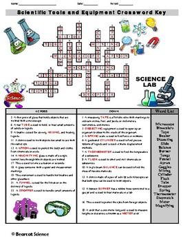 Scientific Tools and Equipment Crossword