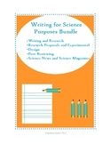Writing for Science Purposes Bundle
