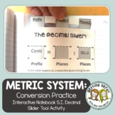 Metric System Conversion - Interactive Notebook