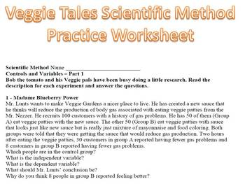 Scientific method Veggie Tales Version Parts 1 & 2