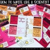 Scientific Method Unit (posters, activities, task cards, w