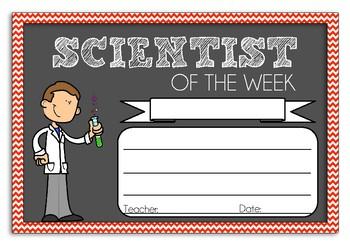 Scientist Award
