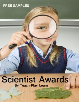 Scientist Awards Free Samples (Next Generation Science Standards)