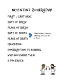 Scientist Biography