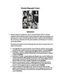 Scientist Biography Project - Instructions