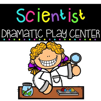 Scientist Dramatic Play Center