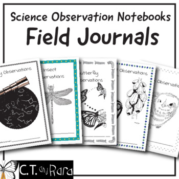 Scientist Field Journals   Science Observation Notebooks