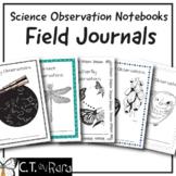 Scientist Field Journals   Science Observation Notebooks