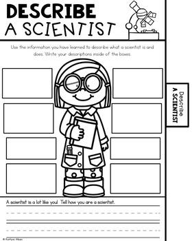 Scientist - Flip Book STEM