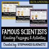 Famous Scientists Reading Passages & Flip Book Bundle