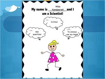 Scientist Introduction PowerPoint