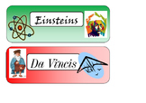 Scientist Labels Group Names