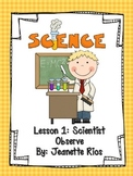 Scientist Observe - English