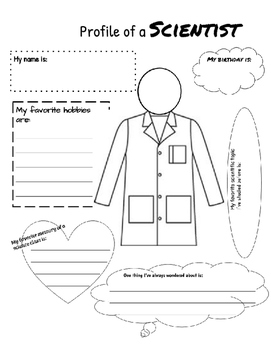 Scientist Profile Getting to Know You Activity Poster