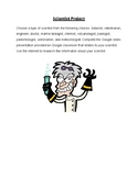 Different Types of Scientists Project