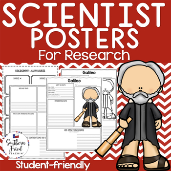 Scientist Research Project Posters