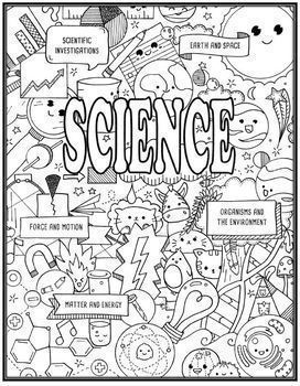 Science and Scientist Seek & Find Doodle Page Combo