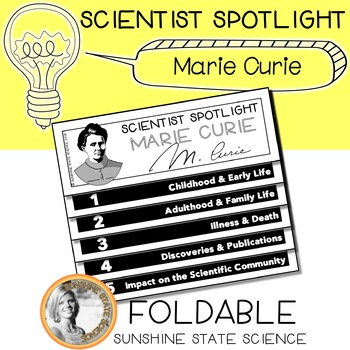 Science Biography Project - Marie Curie