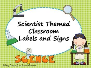 Scientist Theme Classroom Set