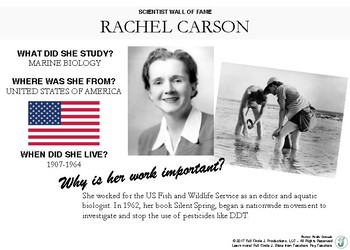 Scientist Wall of Fame: Rachel Carson