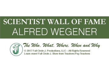 Scientist Wall of Fame: Alfred Wegener