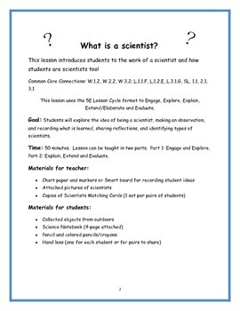 Scientist - What is a Scientist?