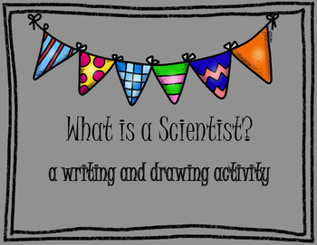 Scientist Writing Activity