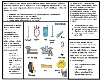 Scientist and Science Tool Bundle