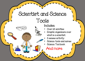 Scientist and Science Tools Bundle