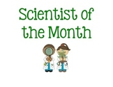 Scientist of the Month