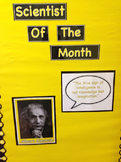 Scientist of the Month Bulletin Board