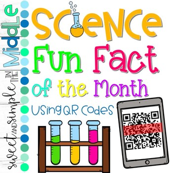 Scientist of the Month, Science Fun Fact, & Quotes from Famous Scientists Bundle
