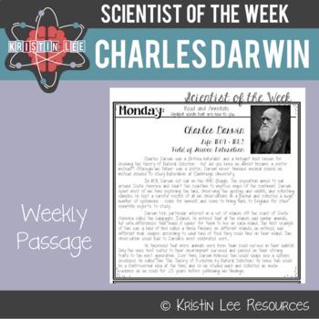 Scientist of the Week - Charles Darwin