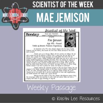 Scientist of the Week - Mae Jemison