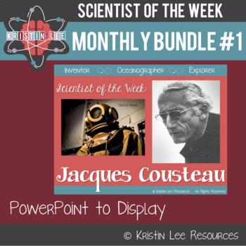 Scientist of the Week - Monthly Bundle #1