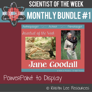 Scientist of the Week - Monthly Bundle #2