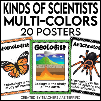 Kinds of Scientists in Multi-Colors