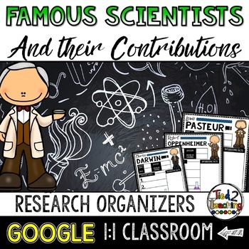 Scientists Biography Report & Informational Writing: Google Classroom