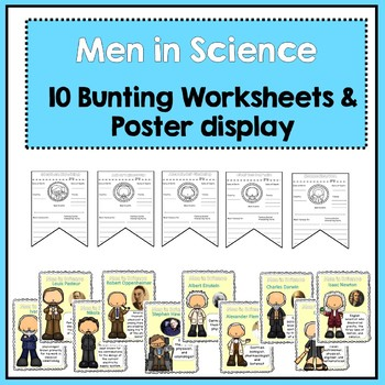 Scientists Bunting Banners