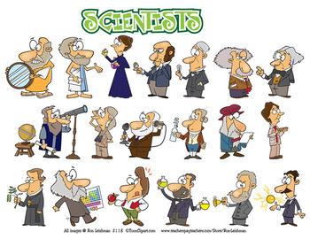 Scientists Cartoon Clipart