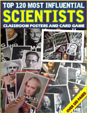 Scientists: Classroom Posters & Card Game