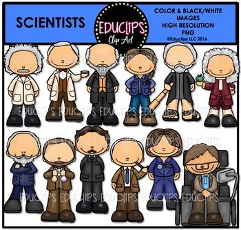 Scientists Clip Art Bundle {Educlips Clipart}