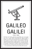Scientists - Galileo Galilei