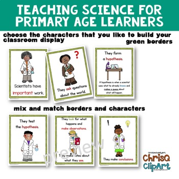 Scientists Have Important Work - Anchor Charts for Classroom Display