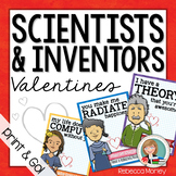Scientists & Inventors Valentines