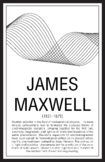 Scientists - James Maxwell